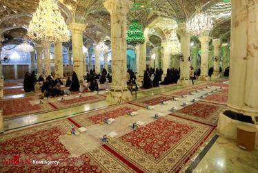 افطاری در حرم حضرت زهرا(س)7