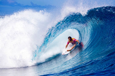 تصاویر خارقالعاده از لیگ جهانی موجسواری در تاهیتی