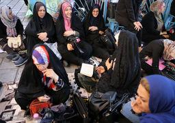 گزارش تصویری ازبرگزاری کنکور سراسری در دانشگاه امیرکبیر