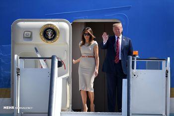 کاهش ارزش پوند، ارمغان سفر ترامپ به لندن