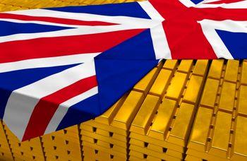 صعود طلا با انتشار آمار اقتصادی انگلیس/ رشد 2.5 درصد ارزش فلز زرد طی هفته گذشته
