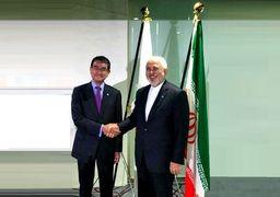وزیران خارجه ایران و ژاپن دیدار و گفتوگو کردند