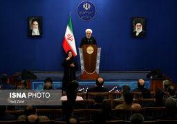 توضیح حسن روحانی در خصوص علت افزایش قیمت بنزین