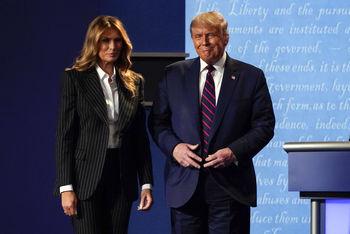 اعلام دلیل انتقال ترامپ و همسرش به قرنطینه