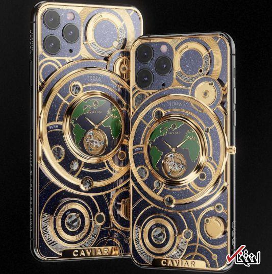 گرانقیمت ترین «آیفون 11 پرو» با نیم کیلو طلای خالص در بخش پشتی رونمایی شد / 70 هزار دلار برای خرید لاکچری ترین تلفن هوشمند سال
