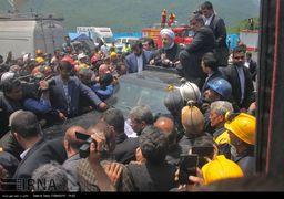 ناگفته هایی از سفر رئیس جمهوری به معدن یورت / پشت پرده حمله به روحانی