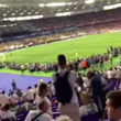 سرمربی جدید سپاهان در فینال لیگ قهرمانان اروپا + فیلم
