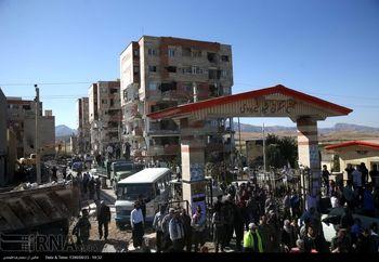 رئیس جمهوری در محل مسکن مهرهای تخریب شده در زلزله حاضر شد + عکس
