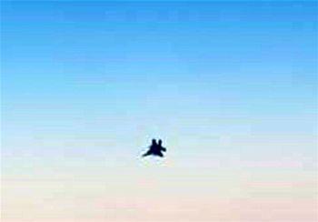 انتشار جملهای ازحاجقاسم سلیمانی پس از تهدید هواپیمای ماهان توسط دو جنگنده آمریکایی در توییتر