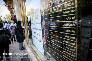 بازار ارز و سکه در محاصره اخبار سیاسی + نمودار