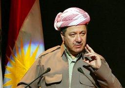 مسعود بارزانی : دیگر فقط با عراق همسایه هستیم / قانون اساسی کردستان تدوین می شود
