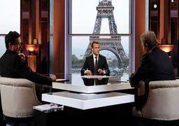 ماکرون: حملات علیه سوریه