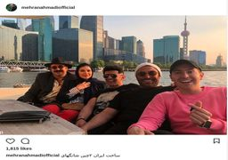 سحر دولتشاهی، رضا گلزار و امین حیایی در چین + عکس