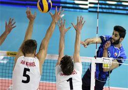 پیروزی قاطعانه تیم ملی والیبال ایران مقابل چین