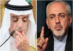 درگیری لفظی شدید بین ظریف و عادل الجبیر