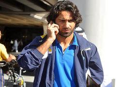 حضور فرهاد مجیدی در وزارت ورزش +عکس
