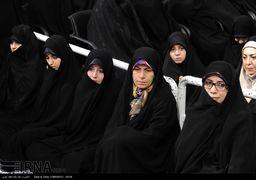دختر حسن روحانی در مراسم تنفیذ حکم ریاست جمهوری پدر + عکس