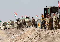 نیروهای نظامی اقلیم کردستان دست به حفر خندق زدند