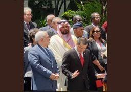 بگو مگوی ظریف با وزیر عربستانی در اجلاس جنبش عدم تعهد +عکس