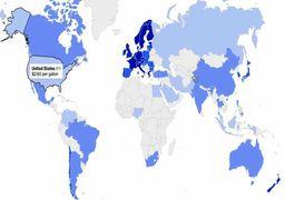 آیا بنزین براى ایرانیها ارزان است؟ + نقشه جهان و قیمت