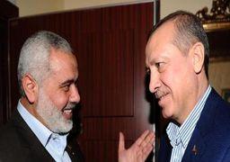 هنیه از اردوغان به خاطر حمایت از فلسطین در مجمع عمومی سازمان ملل تقدیر کرد