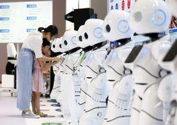 ازدواج جنجالی دو روبات در ژاپن +عکس