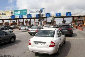 ترافیک نیمه سنگین در جاده های شمال