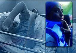 شبکه ۳ باز هم دختر آبی را سانسور کرد +عکس