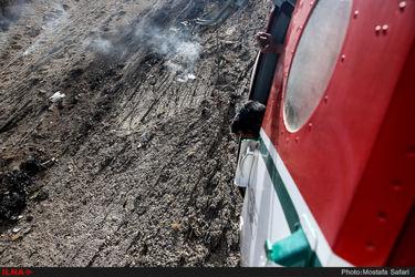 لاشه هواپیمای سقوط کرده ترکیه ای در حوالی شهرکرد