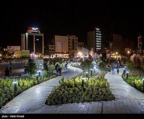 گزارش تصویری از شکل وشمایل جدید میدان هفتتر پایتخت