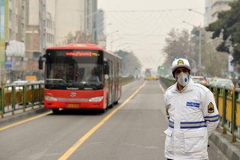 سالانه چند هزار تن آلودگی وارد ریه تهرانی ها می شود ؟