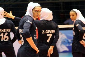 تغییر لباس بانوان والیبالیست ایران + عکس
