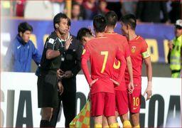 چینی ها خواستار تجدید بازی فوتبال با ایران شدند !