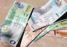 تداوم کاهش قیمت ریال قطر در بازار ارز تهران