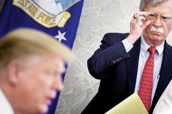 «حمله نظامی به ایران»، علت اصلی قیام بولتون علیه ترامپ
