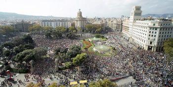 آشوب و خشونت به خیابانهای کاتالان بازگشت