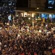 تظاهرات گسترده علیه نتانیاهو