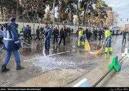 بازگشایی خیابان جمهوری پس از 10 روز