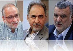3 گزینه ای که به شهرداری تهران نزدیک شدند