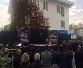 تصاویر مراسم تشییع پیکر رئیس سازمان تامین اجتماعی و معاونش در گرگان