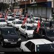 دسته خودرویی عزاداران حسینی+گزارش تصویری