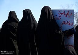 راهپیمایی محکومیت اغتشاشات اخیر در ۴۰ نقطه استان تهران + عکس