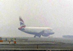بارش برف در تهران پروازها را زمینگیر کرد