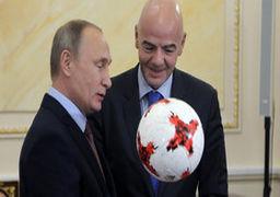 پوتین بخت اول برای قهرمانی جام جهانی را پیشبینی کرد