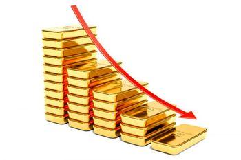 سقوط 20 دلاری طلا این بار در یک ساعت