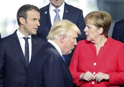 کاسه صبر آلمان و فرانسه در برابر ترامپ لبریز شده است