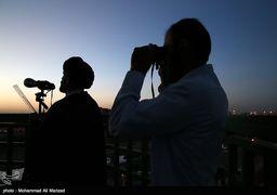 آخرین اخبار از احتمال رویت هلال ماه شوال در روز یکشنبه