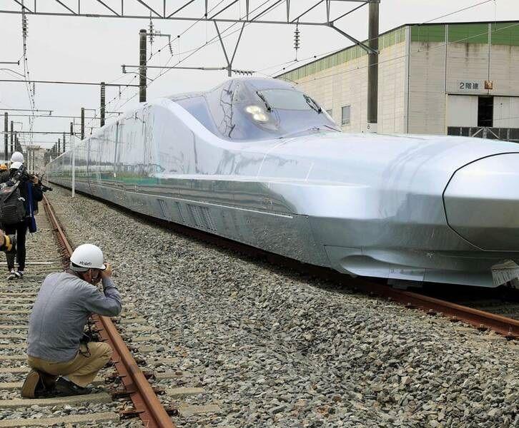 عکس/ رونمایی از سریعترین قطار دنیا