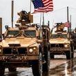 کاروان نظامی بزرگ آمریکا وارد عراق شد