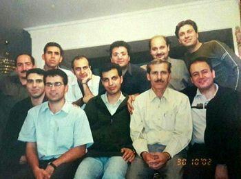 فردوسی پور در جوانی و حضور در یک میهمانی خصوصی +عکس